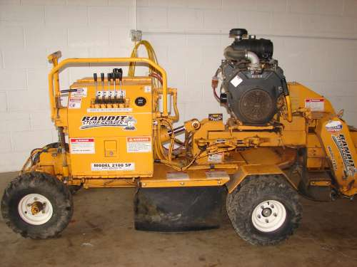 Stump Grinder, Hydraulic 27hp