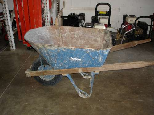 Wheelbarrow, 6 cu ft